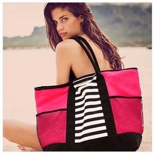 Victoria's Secret LE Island Beach Bag Travel Tote
